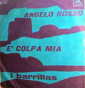 I-BARRITAS-E-039-COLPA-MIA-7-034-ANGELO-ROSSO-RARO-BEAT-ITALY-1965