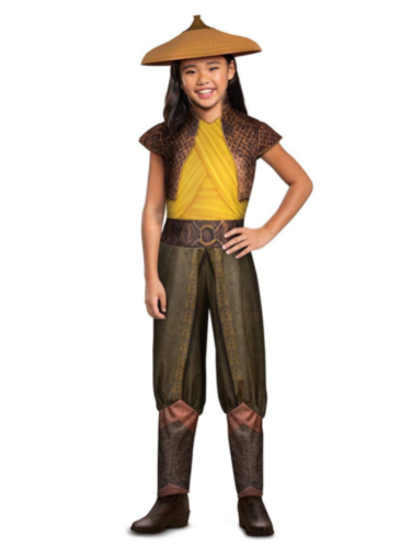 Girl's Raya and The Last Dragon Classic Raya Costume Size Small 4-6