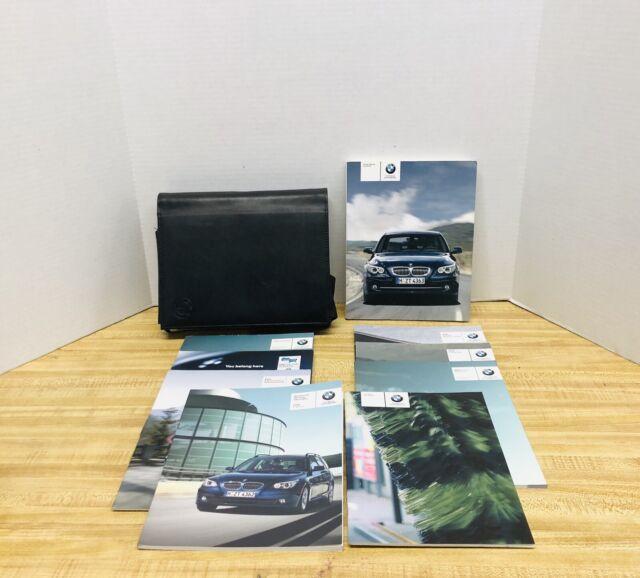 2008 BMW E60 5 SERIES 528i 535i 550i Xi OWNERS MANUAL