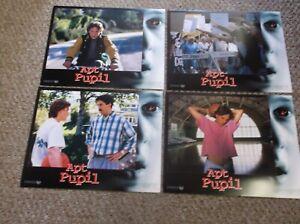 "APT PUPIL(1998)BRAD RENFRO SET OF EIGHT ORIGINAL  11""BY14"" LOBBY CARDS NICE!"