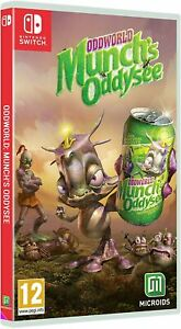 Oddworld-Munch-039-s-Oddysee-For-Nintendo-Switch-New-amp-Sealed