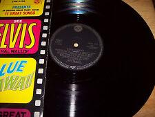 RARE Elvis Presley IMPORT Blue Hawaii LPM 2426 RCA Made in Germany MONO bll/silv