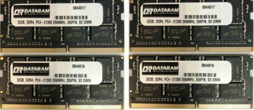 128GB DATARAM DDR4  2666 MEMORY RAM FOR 2019 5K APPLE IMAC 19,1 4X32GB