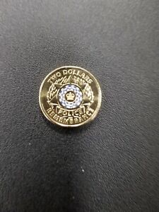 AUSTRALIAN 2019 NATIONAL POLICE REMEMBRANCE DAY...$2.00 DOLLAR COIN..LOW MINTAGE