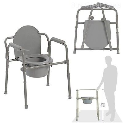 Prime Adjustable Bedside Commode Toilet Seat Riser Fold Chair Handicap Elderly Safety 885146715717 Ebay Pabps2019 Chair Design Images Pabps2019Com