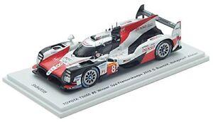 SPARK 1/43 TOYOTA TS050 Hybrid 2018 #8 WEC SPA 6 H Winner Buemi Nakajima Alonso