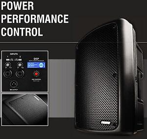 Nova-iC12a-aktiv-PA-Lautsprecher-Box-Buehnen-Monitor-DSP-1000W-2-Wege-Box