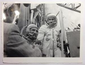 Real-Photo-Baikonur-70s-Cosmonauts-Interview-Astronauts-USSR