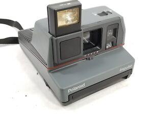 Image is loading Vintage-Polaroid-Impulse-Instant-600-Film-Camera-Gray 7853c9a36da4