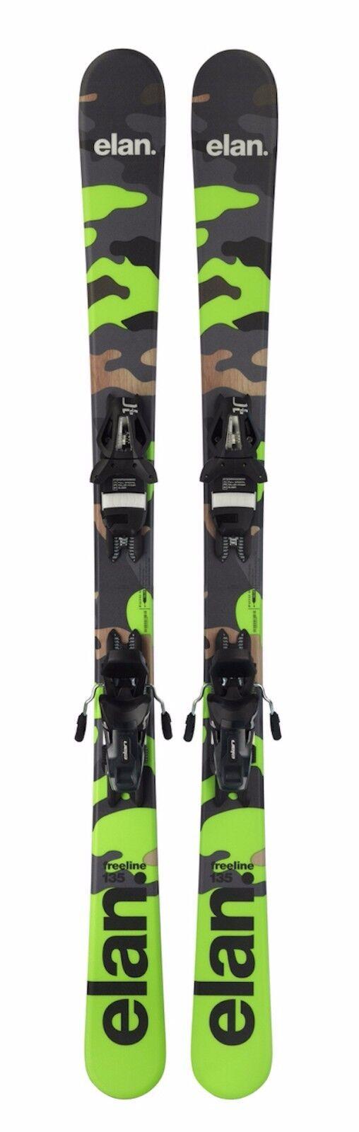Elan Freeride 125cm åka skidorboard Short åka skidors Snowsweels w. Elan åka skidor Bindings 2019
