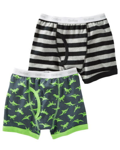 Oshkosh B/'gosh 12 Boys 2-Pack Boxer Briefs Dinosaur
