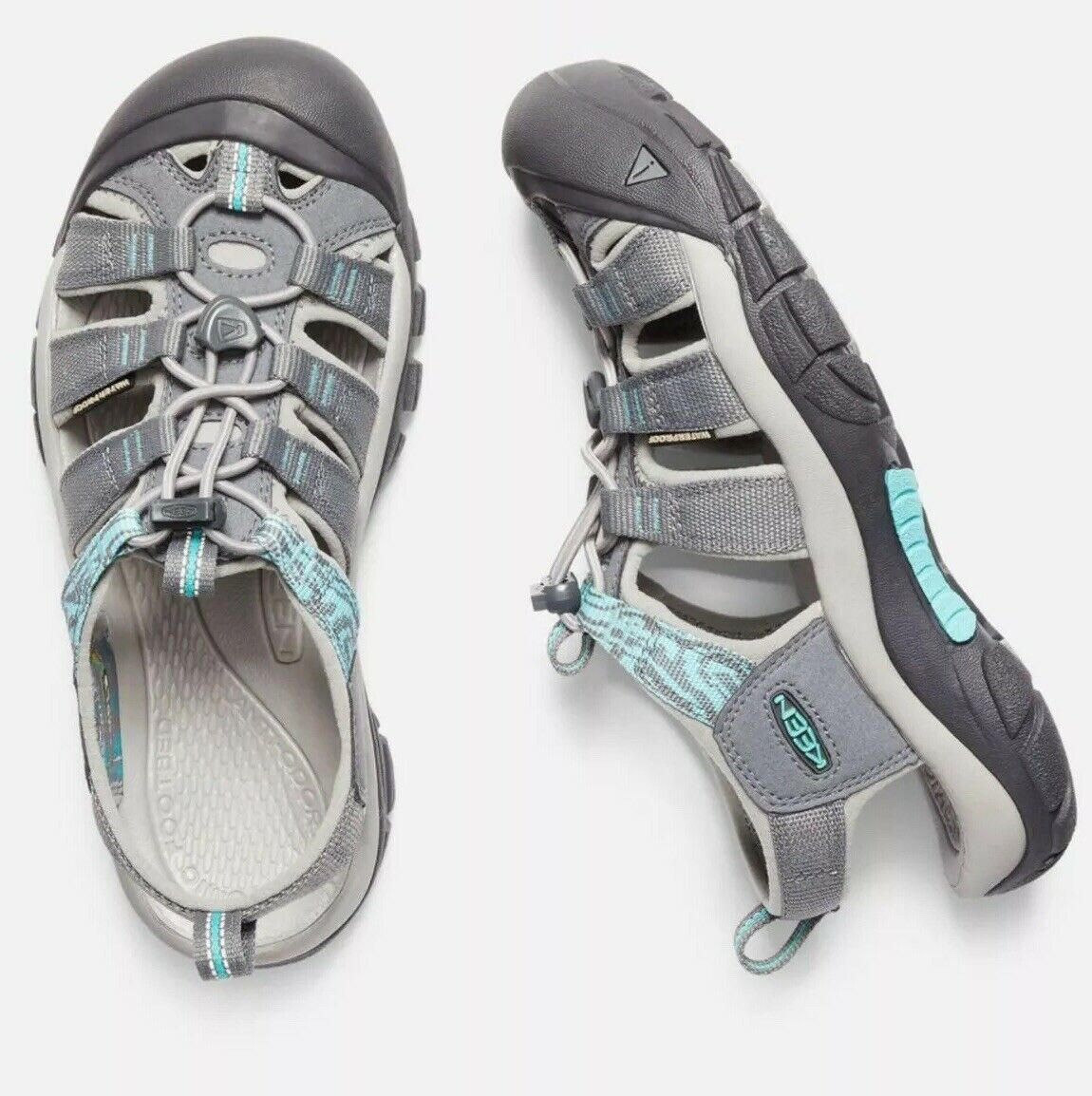 Woman's Keen Turquoise 39 8.5 Newport Hydro River shoes  Sneaker Retails for