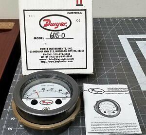 Range 0-150WC Dwyer Magnehelic Series 2000 Differential Pressure Gauge
