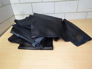Cuir-Reste-Restes-Du-Cuir-Cuir-de-Bricolage-Noir-Melange-Environ-5-1-kg-R630