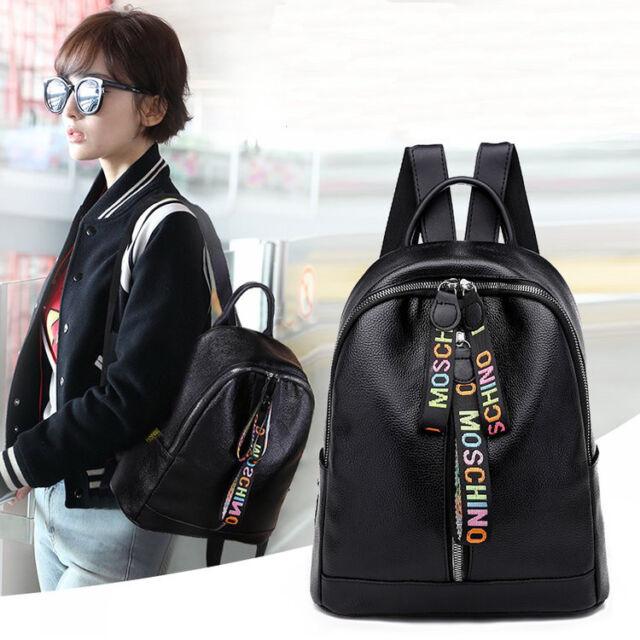 Yearkala Fashion 2 PCS//Set PU Leather Women Backpacks for Teenagers Female