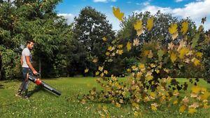 Electric-Turbine-Leaf-Blower-110-MPH-600-CFM-Light-Yard-Garden-Driveway-Handheld