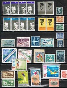 jimace29  Worldwide Collection of 36, Unused Ireland, Italy, San Marino, Greece+