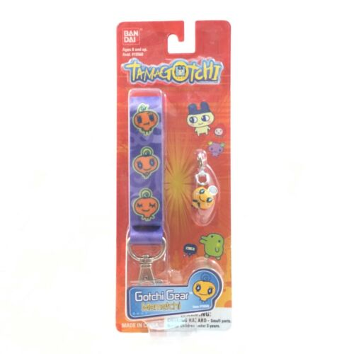 Memetchi Gotchi Gear Tama Leash with Charm Bandai Tamagotchi NIP