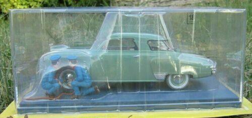 Studebaker Garage Simoun Tintin 1 24 + FOLLETO Coche Modelo Diecast Nuevo En Caja