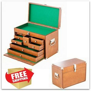 Wood Carving Tools Pfeil Storage Chest Cabinet Machinist Tool Box ...