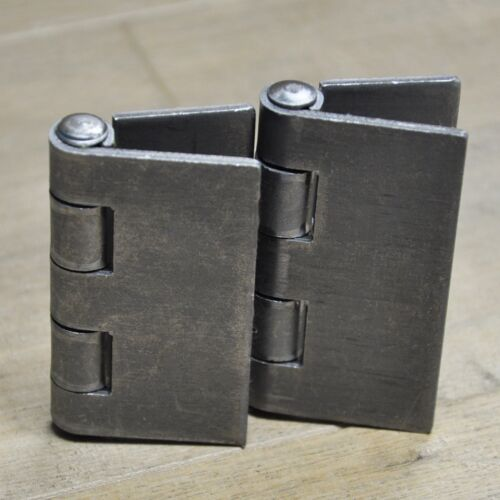 """Butt Hinge Weld On Flat Steel Heavy Duty Metal Door 3/"""" x 3/""""2 PACK"""