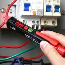 Ac Voltage Tester Pen 12v48v 1000v Sensitivity Electric Compact With Led Light