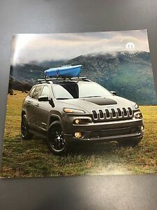 Image Is Loading 2017 Jeep Cherokee Accessories 16 Page Original S