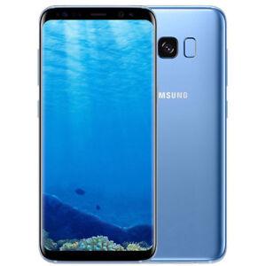 Bleu-Samsung-Galaxy-S8-G950U-Octa-Core-64GB-12-0MP-5-8-034-Debloque-SmartPhone