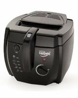 Presto 05442 Cooldaddy Cool-touch Deep Fryer - Black, New, Free Shipping