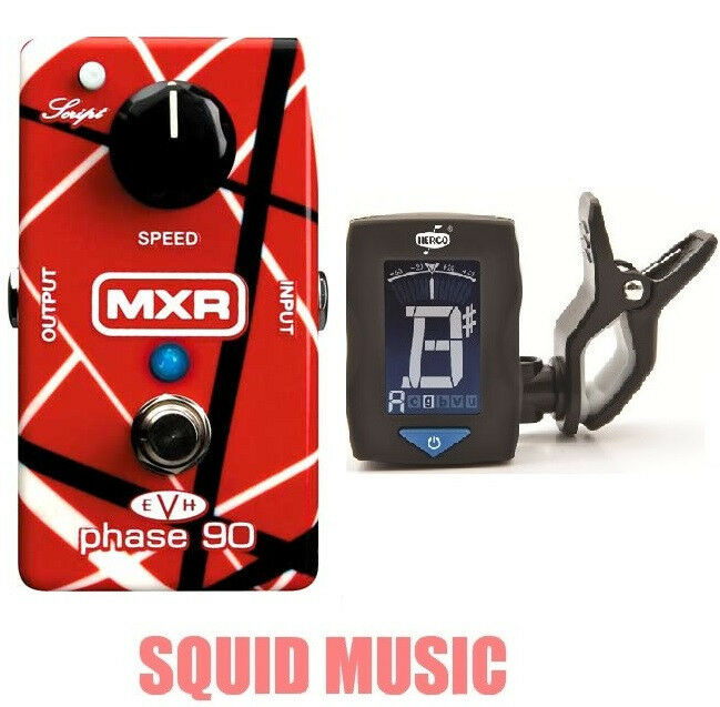 MXR EVH Eddie Van Halen Phase 90 ( FREE FREE FREE DUNLOP CLIP ON GUITAR TUNER ) EVH90 e3ed32