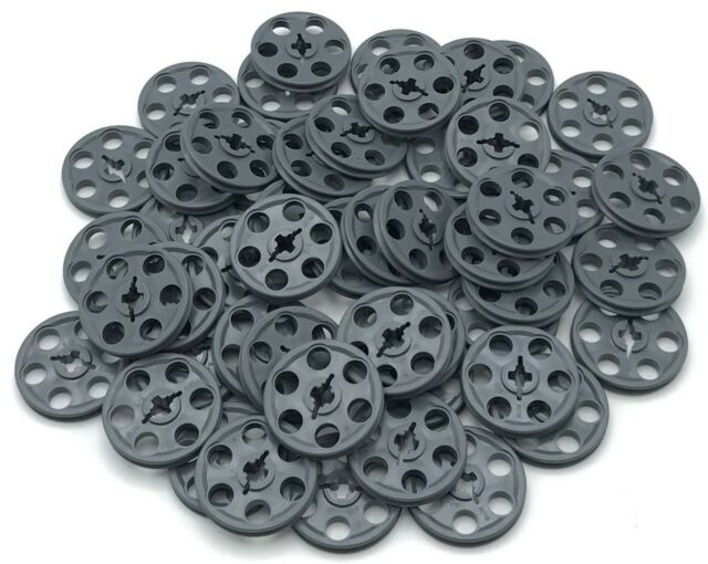 Lot of 4 CHOICE U COLOR LEGO Technic Wedge Belt Wheel Pulley and Rubber Belt