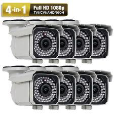 HD 4-in-1 2.6MP 1080P 66IR Varifocal Zoom Outdoor Security Camera Power Adapter