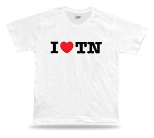 TN Tennessee t-shirt heart Volunteer