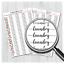 Planner Stickers LaundryWash Day StickersMSCPS67