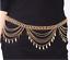 Boho Tribal Dangle Gypsy Belly Dance Indian Chain Shimmy Leaves Metal Belt Hippy
