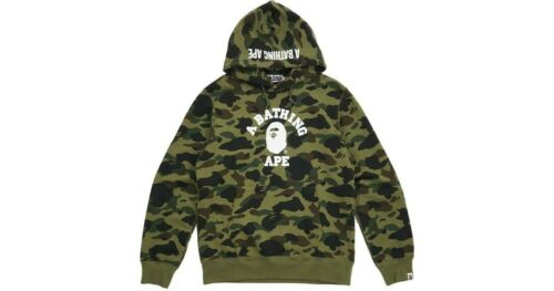 BAPE 1st Camo College Pullover Hoodie