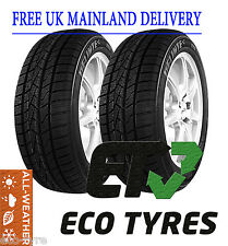 2X Tyres 215 55 R16 97V House Brand M+S All Weather Winter/Summer Cross Climate