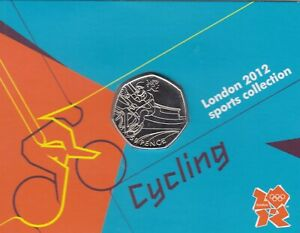 London 2012 Olympic JUDO 50p coin brand new uncirculated on CARD perfect
