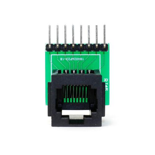 Conector Y breakout junta Kit Rj45 de 8 patillas con PCB postes de montaje