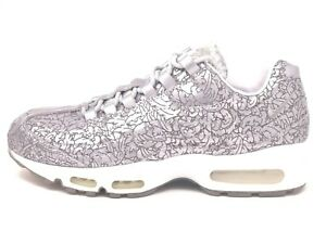 best sneakers 4074b 4ef86 Image is loading Nike-Air-Max-95-Anniversary-QS-Pure-Platinum-