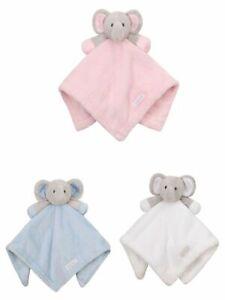 Boys /& Girls Baby Comforter Elephant Blanket Pink /& White by BabyTown