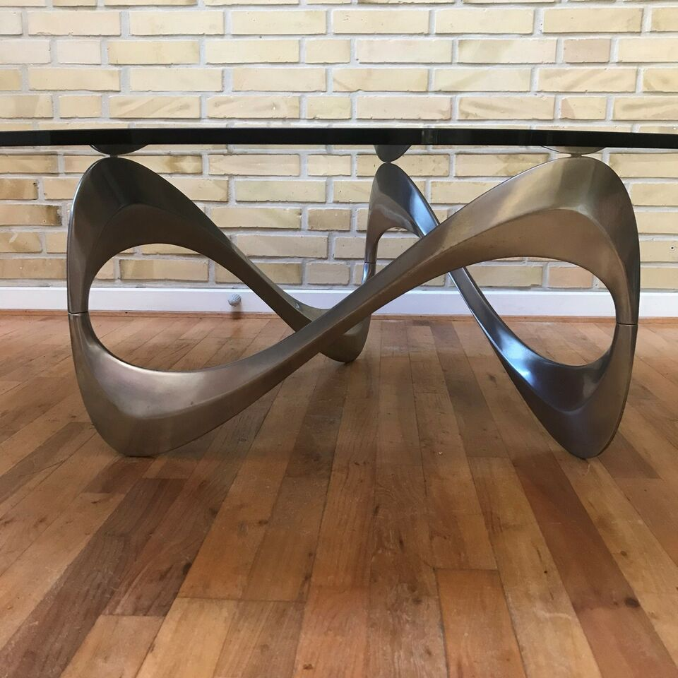 Sofabord, Ronald Schmitt, aluminium