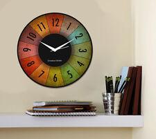 Creative Width Dartboard Wall Clock