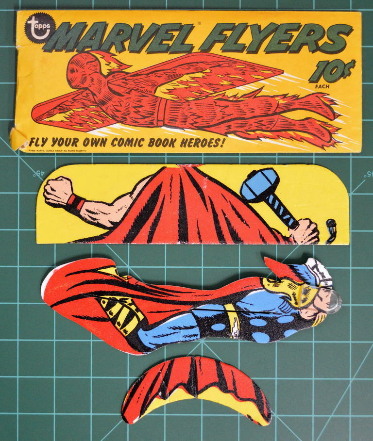 1966 TOPPS MARVEL FliegenERS MIGHTY THOR w ORIGINAL PACKAGE RARE