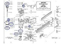 Duo-fast Cn137 Nail Gun O Ring Kit For The Cn-137 Nailer