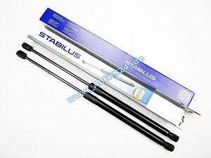 2x-Stabilus-Lift-O-Mat-Gas-Spring-Rear-Hood-Muffle-AUDI-A6-Estate-4F5-C6