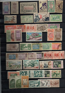 France-anciennes-colonies-dom-104-timbres-tous-pays