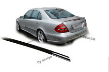 Mercedes S Klasse W221 Heckspoilerlippe SCHWARZ GLANZ Abrisskannte Spoiler Apron