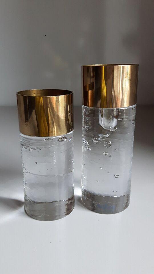 Glas, Lysestage, NYBRO Glasbruk - Rune Strand