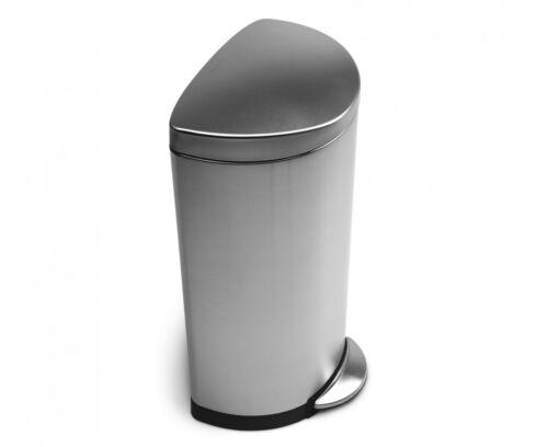 Simplehuman Treteimer Mülleimer Edelstahl matt 30 L Abfallsammler Tonne B-Ware